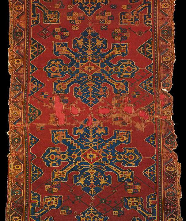 Star UShak carpet, 17th century, Western Anatolia